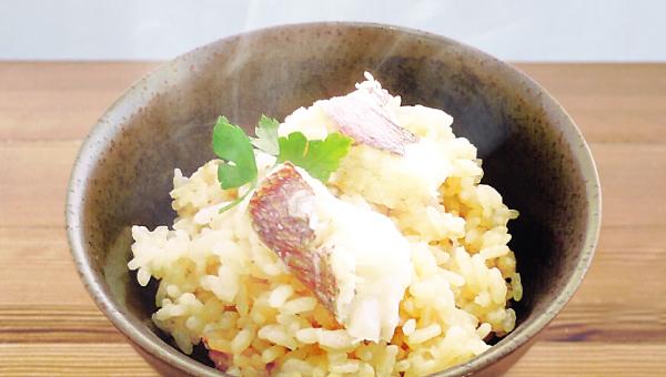 【出汁が決め手】真鯛釜飯の素